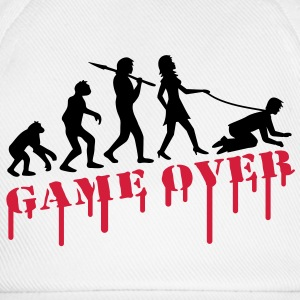 game_over_bachelor_party T-skjorter - Baseballcap
