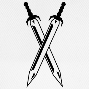 two_swords T-shirts - Basebollkeps