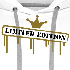 limited_edition_crown T-shirts - Premiumluvtröja herr