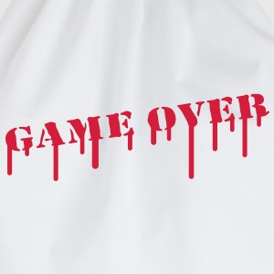 game_over_paint T-shirts - Gymtas
