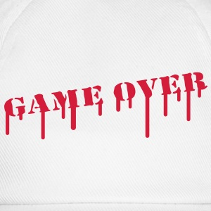 game_over_paint T-shirts - Basebollkeps