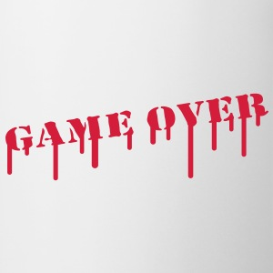 game_over_paint T-shirts - Mok