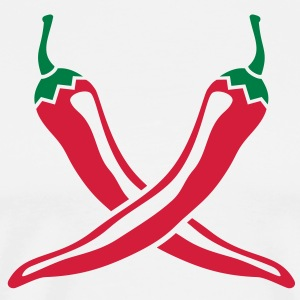 Chili  Aprons - Men's Premium T-Shirt