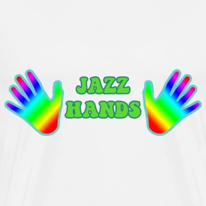 Jazz Hands Bags  - Men's Premium T-Shirt