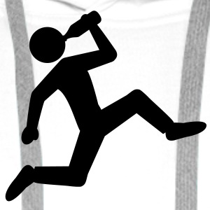 running_with_beer T-shirts - Premiumluvtröja herr