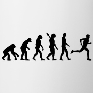 Evolution Laufen T-Shirts - Tasse