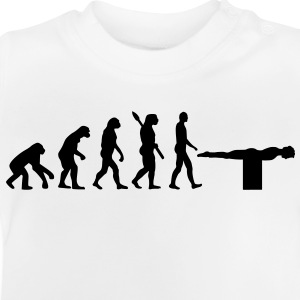 Evolution Planking Kinder T-Shirts - Baby T-Shirt