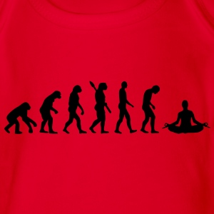 Evolution Yoga Kinder T-Shirts - Baby Bio-Kurzarm-Body
