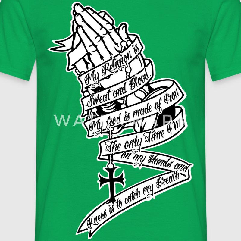 Iron Prayer Direct  T-shirts - Mannen T-shirt