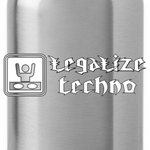 legalize techno Hoodies & Sweatshirts - Water Bottle