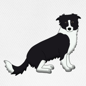Border Collie T-shirts - Basebollkeps