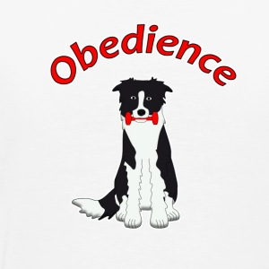 Obedience Border Collie 2 Long sleeve shirts - Men's Premium T-Shirt