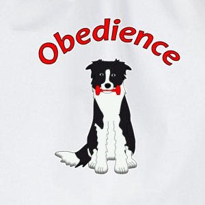 Obedience Border Collie 2 T-Shirts - Turnbeutel