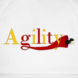 Agility 2 red T-shirts - Basebollkeps
