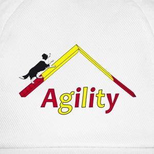 Agility Border Collie T-shirts - Basebollkeps