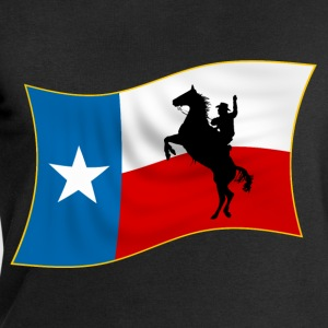 cowboy texas flag Tee shirts - Sweat-shirt Homme Stanley & Stella