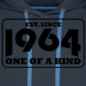 1964 - One Of A Kind T-Shirts - Männer Premium Hoodie