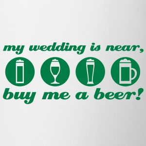 partie de célibataire: my wedding is near Tee shirts - Tasse