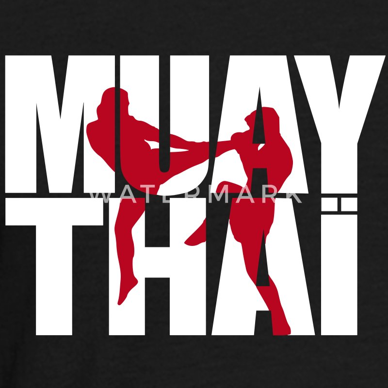 Muay thai logo full T-Shirts - Men's T-Shirt