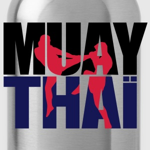 Muay thai logo full Boxe thailandaise Sweat-shirts - Gourde