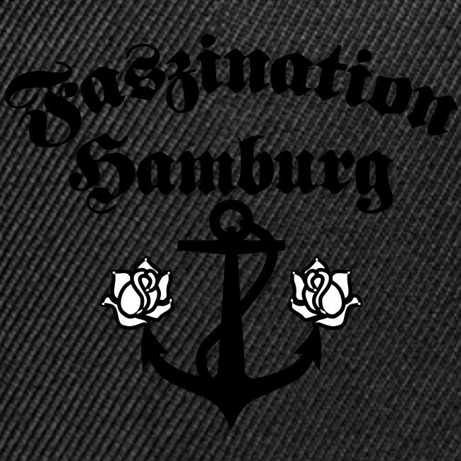 Faszination Hamburg Anker und Rosen Frauen Shirt