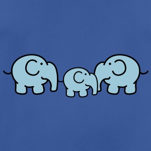 a small family of elephants Hoodies & Sweatshirts - Men's Breathable T-Shirt