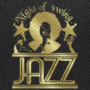 night of swing jazz T-Shirts - Snapback Cap