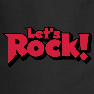 Let's Rock T-Shirts - Cooking Apron