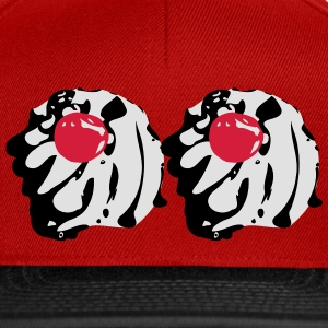 cherry on whipped cream T-Shirts - Snapback Cap