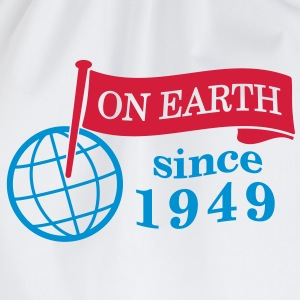 flag on earth since 1949  2c (it) Maglie a manica lunga - Sacca sportiva