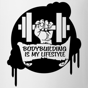 Bodybuilding is my Lifestyle Drips Direct T-Shirts - Mug