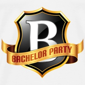 Bachelors Party 1 (dd)++ Tröjor - Premium-T-shirt herr