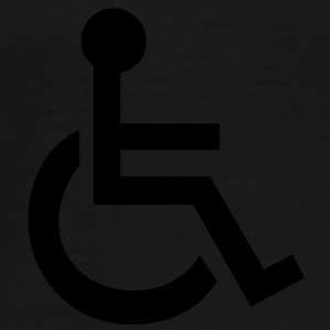 Disabled Wheelchair Symbol Bags  - Men's Premium T-Shirt