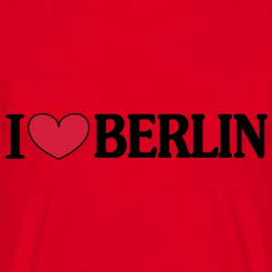 I love Berlin Hoodies & Sweatshirts - Men's T-Shirt