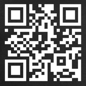 QR code we are anonymous - Mannen sweatshirt van Stanley & Stella