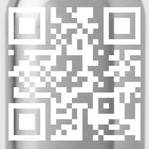 QR code we are anonymous - Trinkflasche