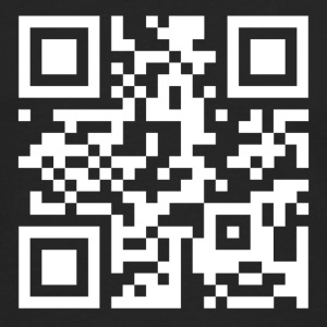 QR code we are anonymous - T-shirt manches longues Premium Homme