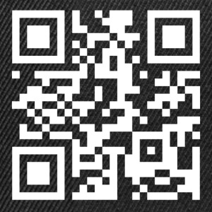 QR code we are anonymous - Casquette snapback