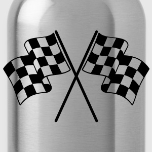 Checkered Flags Bags  - Water Bottle
