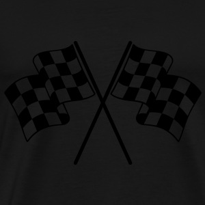 Checkered Flags Bags  - Men's Premium T-Shirt