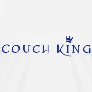 Couch King 3 Pullover & Hoodies - Männer Premium T-Shirt