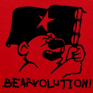 Bear Revolution Sweaters - Mannen Premium tank top