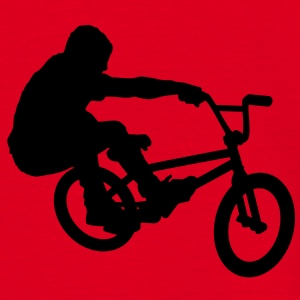 BMX Rider (Bunny Hop) (Vector) - Men's T-Shirt