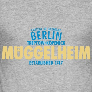 Capitol Of Germany Berlin - Müggelheim - Männer Slim Fit T-Shirt