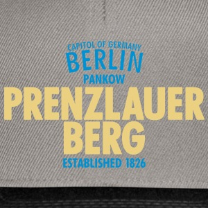 Capitol Of Germany Berlin - Prenzlauer Berg - Snapback Cap