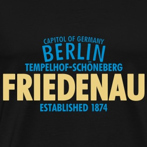 Capitol Of Germany Berlin - Friedenau - Männer Premium T-Shirt
