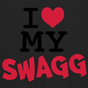 I love my swagg Bags  - Men's Premium Longsleeve Shirt