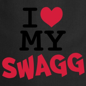I love my swagg T-Shirts - Cooking Apron
