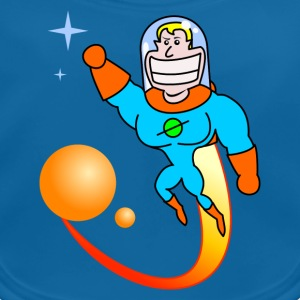 Space Hero Kinder shirts - Bio-slabbetje voor baby's