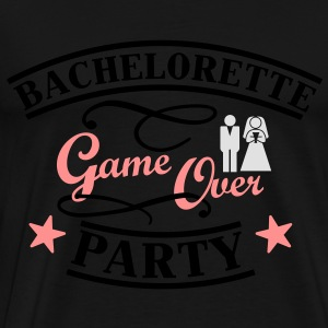 Bachelorette Game Over Sweaters - Mannen Premium T-shirt